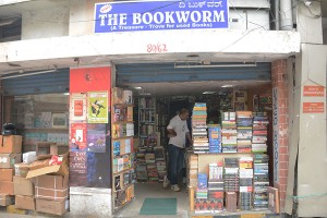 Bookworm has two locations. The smaller (pictured above) is more easily located, but the larger houses four times the stock. (Photo: Kevin Matyi)
