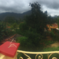 A panoramic view of Vinales from the rooftop of our casa particulare. Photo by Kayla Shults.