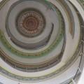 The interiors of the Vidhana Soudha's many domes are beautifully painted. The Vidhana Soudha houses the legislature of the state of Karnataka. (Photo: Diana Lopez)