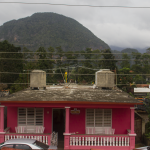 The mountains surround the casas in Vinales. Photo by Rick Ricioppo.